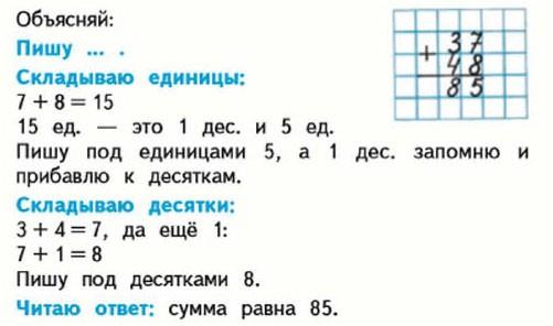 Учебник. Моро 2 класс 2 часть. Страница 12