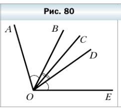 Мерзляк 5 класс - § 11. Угол. Обозначение углов