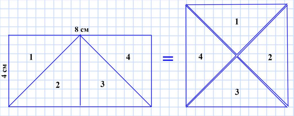 Мерзляк 5 класс - § 15. Прямоугольник. Ось симметрии фигуры